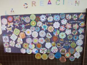 Mural de La Creación de DIos